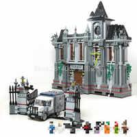 07044 Batman Arkham Asylum Breakout Super Heroes DC Super Hero Gebäude Ziegel Blöcke Spielzeug Kompatibel mit Film 10937