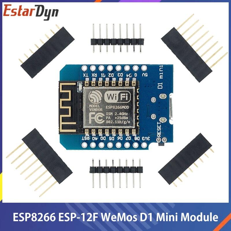 D1 мини ESP8266 ESP-12 ESP-12F CH340G V2 USB WeMos D1 мини WI-FI макетная плата D1 мини NodeMCU Lua IOT доска 3,3 V с булавками