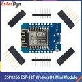 D1 Mini ESP8266 ESP-12 ESP-12F CH340G V2 USB WeMos D1 Mini WIFI Development Board D1 Mini NodeMCU Lua IOT Board 3.3V With Pins
