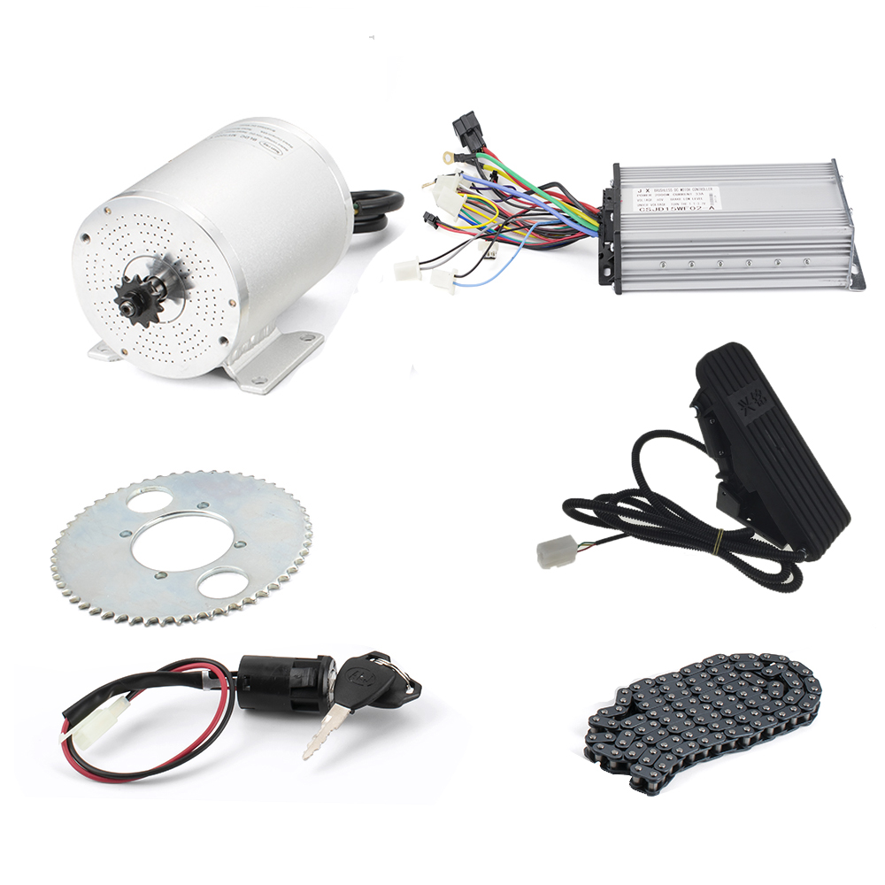 Brushless Dc <font><b>Motor</b></font> For Electric Bike Mid Drive <font><b>Motor</b></font> Kit 1000W Engine Ebike Conversion Kit 36V/48V/<font><b>60V</b></font> 1000W/1500W/1600W/<font><b>2000W</b></font> image