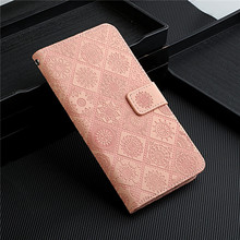 Nieuwe Voor Coque Samsung Galaxy S10 Plus Lederen Portemonnee Flip Case Voor Samsung S 10 S20 Fe 5G Of 4G S10e Rooster Bloem Telefoon Cover