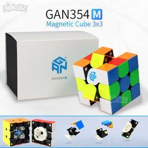 Image 5 - Gan 356X3x3x3 manyetik küp 3x3 sihirli mıknatıs küp hız Gan küp hava 356 SM 354M Gan 356x Neo Magico Cubo 3*3 GAN 356 X