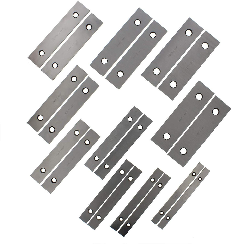 "Machinist/'s Thin Parallel Bar Set 10 Pair 1//8/"" X 6/"""