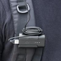 For DJI FPV Battery Holder Headband Battery Storage Case Back Clip Holder Combo Goggles V2 V1 Flying Glasses Accessories