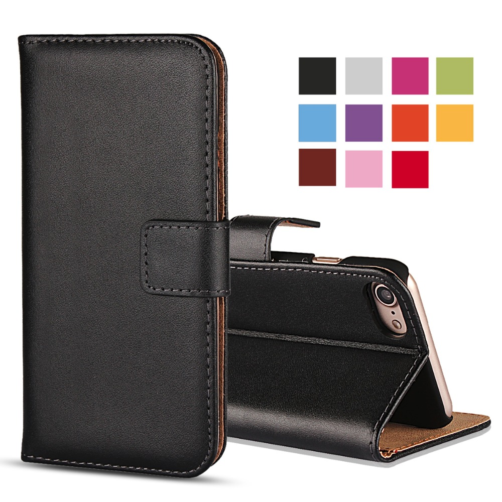 Funda para teléfono para iPhone 8 7 6 6S Plus Funda Coque Leather Book Wallet para iPhone SE 2020 5S 5C 4 4S Funda Hoesje Etui Bag Accesorio