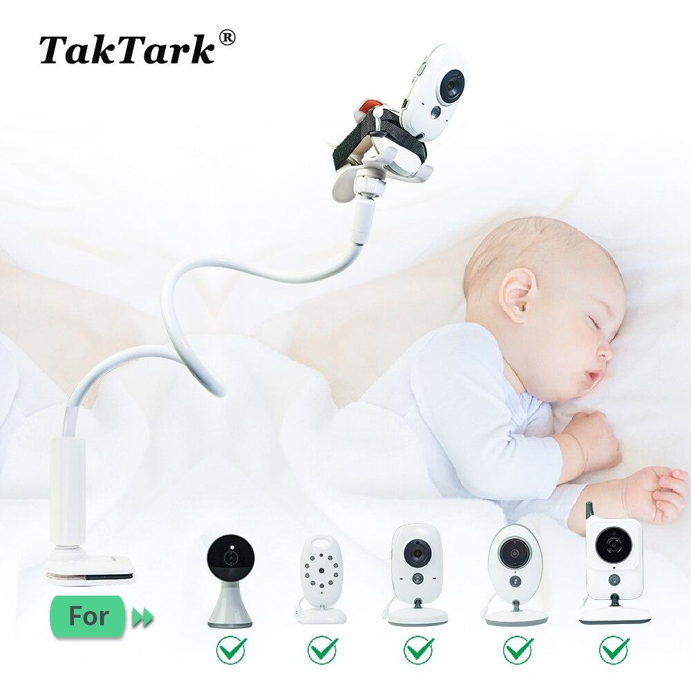 Soporte Universal para cámara TakTark multifunción para Monitor de bebé, soporte ajustable para brazo largo
