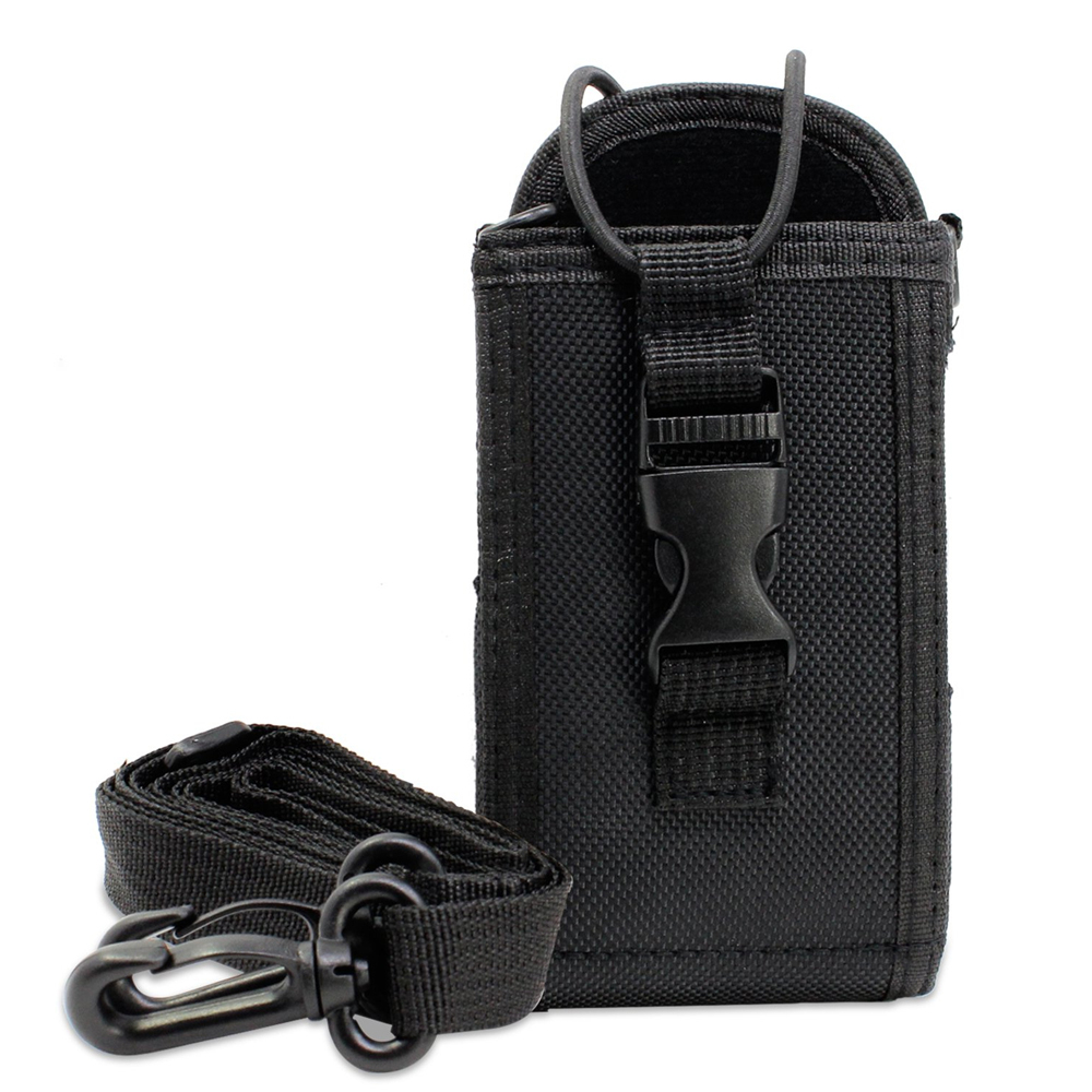 3in1 Multi-Function Universal Pouch Bag Holster Case For GPS PMR446 Kenwood ICOM Two Way Radio Transceiver Walkie Talkie