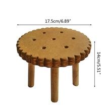 Newborn Detachable Bedside Table Baby Photo Shooting Handmade Wooden Cookie Desk