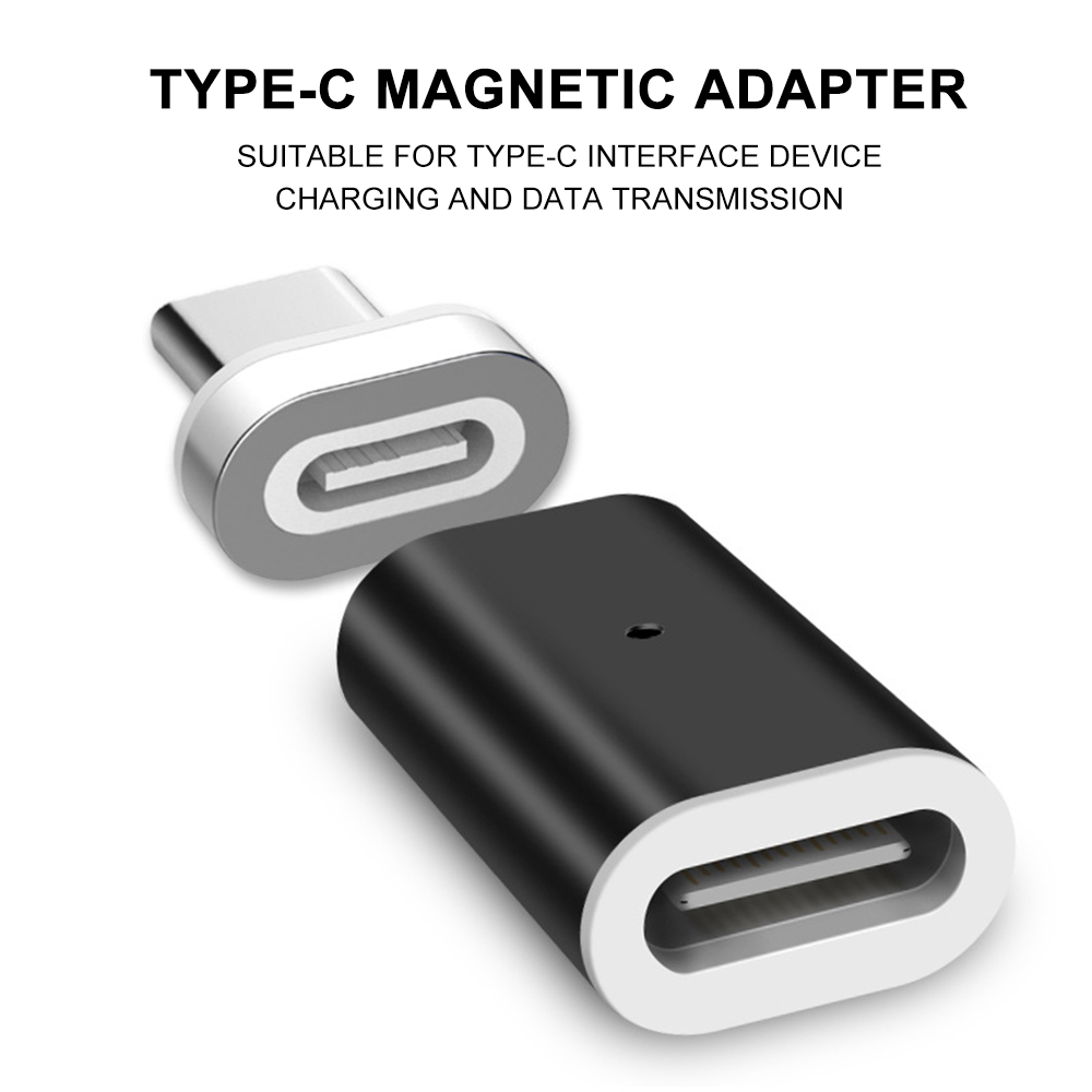 Cafele Magnetic Adapter USB Type C To Micro USB Type-C Converter For IPhone Xiaomi Huawei Samsung Phone Charger Cable Connector