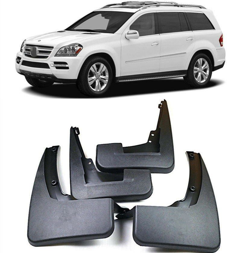 Mercedes ML W164 GL X164 Chrome Mirror Cover by Luxury Trims 2010-2011 2008-2010