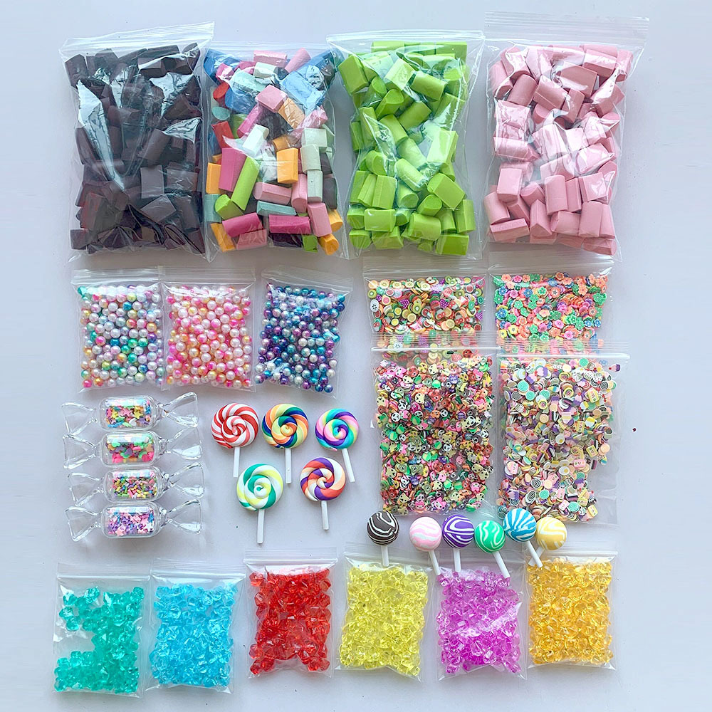 32Pack Slime Beads Charms Set,Slime Supplies Kit,Slime Tools For Slime Making DIY Craft Children's Funny Toy Kids Christmas Gift