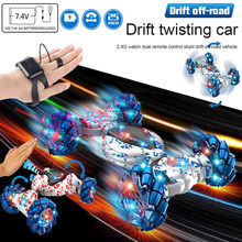 Stunt Remote Control Car Kids Toy Gesture Sensing Twisting Vehicle Drift Car Driving Toys For Children Christmas Funny Game Paly(China)