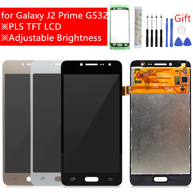 H462d7eb40d5944129c2a479143bb50c1V For Samsung Galaxy J2 Prime LCD Display G532F Touch Screen Digitizer Assembly G532 G532M lcd replacement repair parts with gift