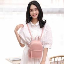 Fashion trend casual lychee pattern backpack 2020 college suede small backpack Single Shoulder Bag Messenger Handbag 2018 life is strange backpack with butterfly pattern shoulder bag