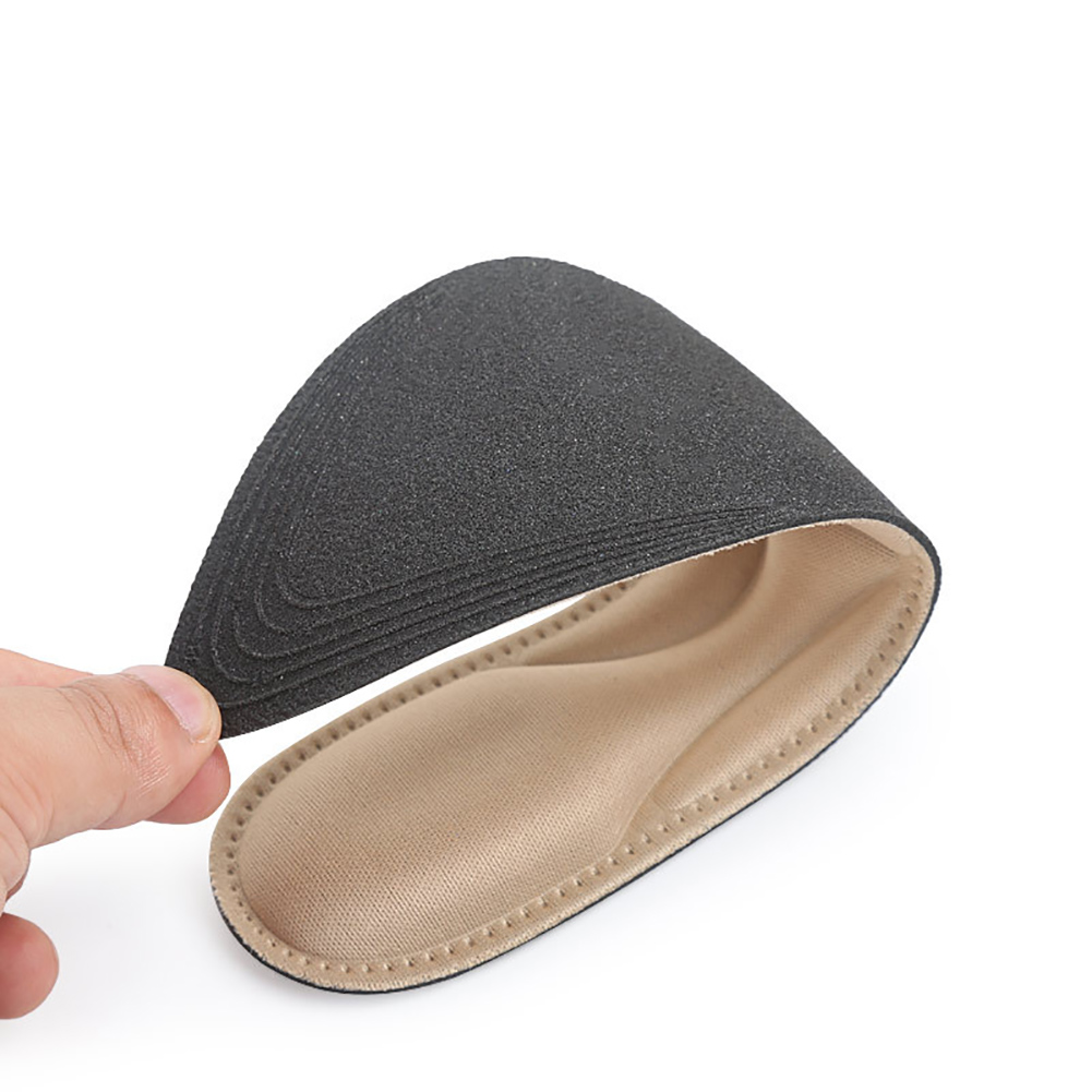 1 Pair Flat Foot 4D Sponge Soft Inserts Massage Cushion Shoes Arch Support Practical Pad High Heels Comfort Durable Insoles