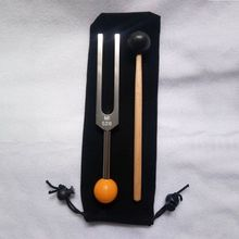 Tuning Fork 528 HZ - with Buddha Bead Base for Ultimate Healing and Relaxation