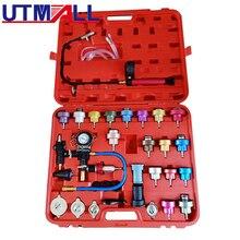 Heizkörper Druck Compression Tester Kit 34pc Kühlsystem Leck Detektor Werkzeug