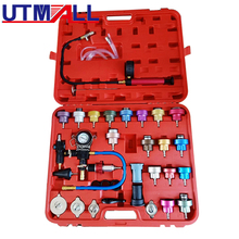Radiator Pressure Compression Tester Kit 34pc Cooling System Leak Detector Tool