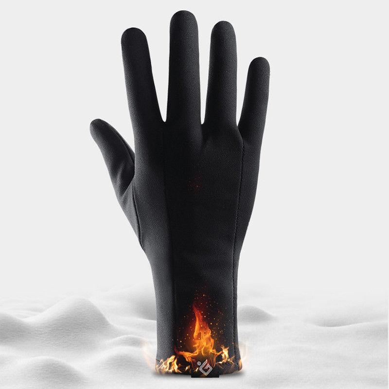 Outdoor Sport Unisex Touch Screen Windproof Waterproof Winter Warm Gloves Mitten