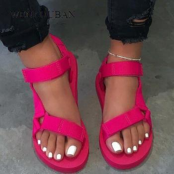 Summer Beach Shoes Women Sandals Outdoor Platform Shoes Non-slip Sandal Ladies Wedage Sandalias Mujer 2020 Zapatos De Mujer