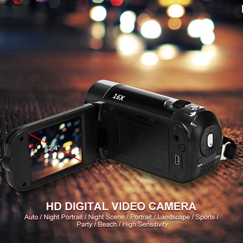 H462de8ec1f9742f7898e52591ef92179A Fast shipping 2.4''LCD DV Camcorder Photography DVR Recorder Digital Zoom USB Fill Light AV Cable Photo Display Digital Camcorde
