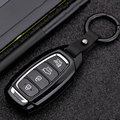 Чехол для автомобильного ключа Carbon Stars для Hyundai i30 Ix35 Solaris Azera Elantra Grandeur Ig Accent Santa Fe Verna 2017 2018