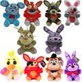 20 стилей 20 см FNAF плюшевые игрушки Five Nights At Freddy's 4 медведь Фредди Бонни и Чика Baby Ballora Фокси плюшевая игрушка кукла подарки