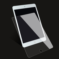 9H Tempered Glass For iPad 10.2 inch 2019 2.5D Full Cover Screen Protector For iPad Pro 11 Air 2 3 MiNi 5 4 3 2 2017 2018 Glass 2
