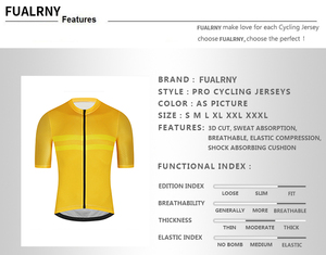 Fualrny Pro Велоспорт Джерси Для мужчин Аэро велосипедные Джерси легкий Mtb непрерывный процесс велосипед Велосипедная форма рубашка Майо