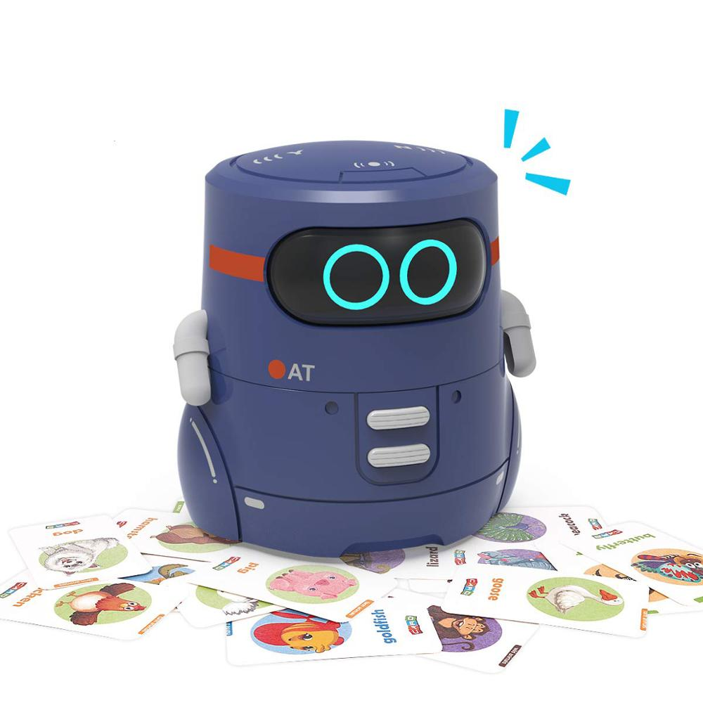 Rc Robot Toy for Kids STEM Educational Toys Touch Sensor Smart Robotics Singing Dancing Repeating Voice Recordin Interactive Toy