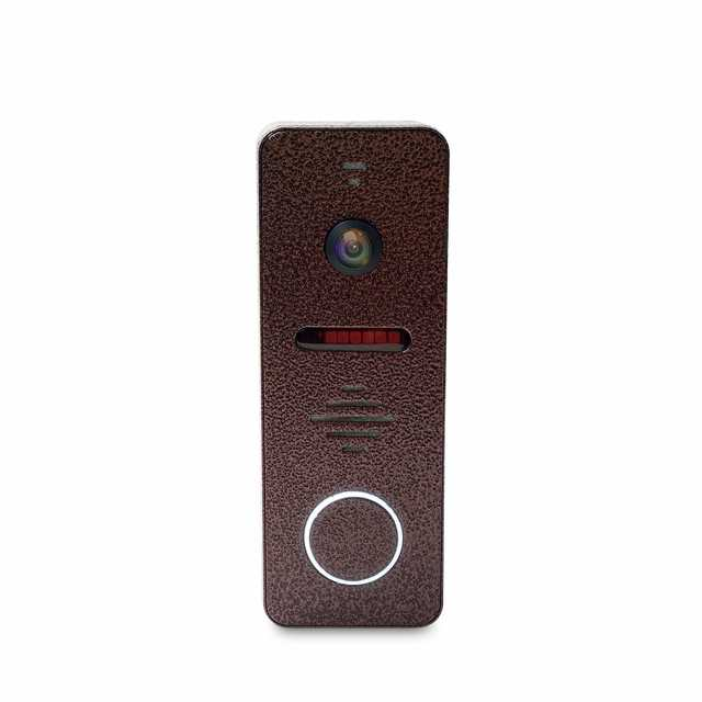 Dragonsview 1200TVL Video Door Phone Call Panel  Doorbell with Camera  Wide Angle 130 Degree Day Night Vision IR Leds