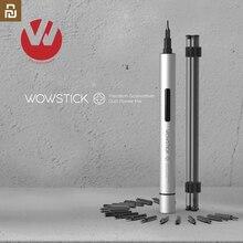 원래 Wowstick 1P 플러스 1P + /TRY 19in1 전기 스크루 드라이버 알루미늄 DIY 공구 장비 똑똑한 가정을위한 전화 수선을위한 제일 선물