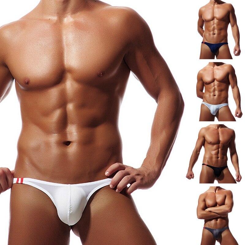 Thongs For Male Men's Sexy Thong Low Rise Bikini T-Back G-String Underwear Men