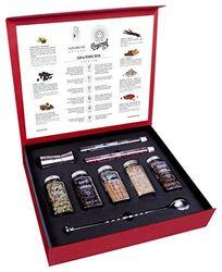 Джин и тоник премиум подарочный набор для коктейльных ботаников, специй, трав и цветов | Самый оригинальный набор для Джин