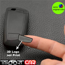 Car Remote Key Back Sticker with M emblem for BMW key-less remote 3D sticker battery door F10 F30 1 2 3 4 5 6 7 Series