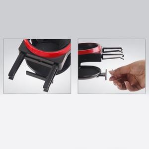 Image 5 - Auto Klimaanlage Outlet Wasser Tasse Trinken Halter Auto Magnet Handy Halterung Multi funktion Feste Hängen Tasse halter
