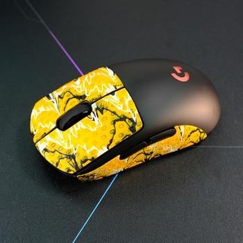 Kashcy Lizard Skins Mouse Skates Sticker For Esport Gamer Handmade DYI Customized Size Non Slip Sweat Ultra-thin Anti-Slip