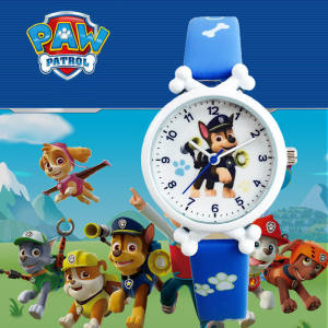 Kids Watch Waterproof Leather Sport Watch For Boys Girls Cartoon Children Watch Gift