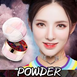 4-color Loose Powder Long-lasting Oil-control Hide Pores Even Skin Color Matte Setting Powder New