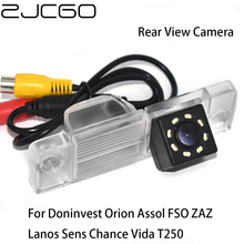 ZJCGO CCD Car Rear View Reverse Back Up Parking Waterproof Camera For Doninvest Orion Assol FSO ZAZ Lanos Sens Chance Vida T250 zaz caen