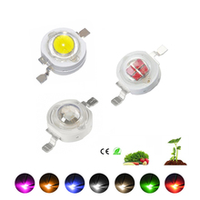 Bulbs Light-Beads Diodes Led-Chip-Lamp Warm Grow White Yellow Blue Green High-Power 660nm
