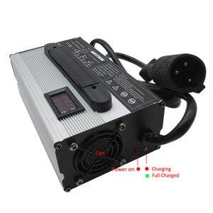 Image 2 - 900W 24V 25A 36 V 20A 48V 15A עופרת חומצת 36 וולט גולף עגלת מועדון רכב מלגזה EZGO TXT RXV מהיר חכם מטען
