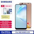 100% Super AMOLED For Samsung A50 LCD Screen Replacement For Samsung Galaxy A50 A505 Display LCD Screen A505F A505FD Display LCD