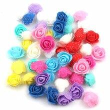 Rose-Head Fake-Flowers Artificial Pe-Foam Diy Wedding Home-Decoration Party Mini 30pcs