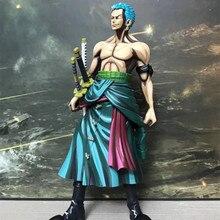 Anime One Piece Roronoa Zoro Comic Ver PVC Action Figure Collectible Model doll toy 25cm pvc cartoon comic doll