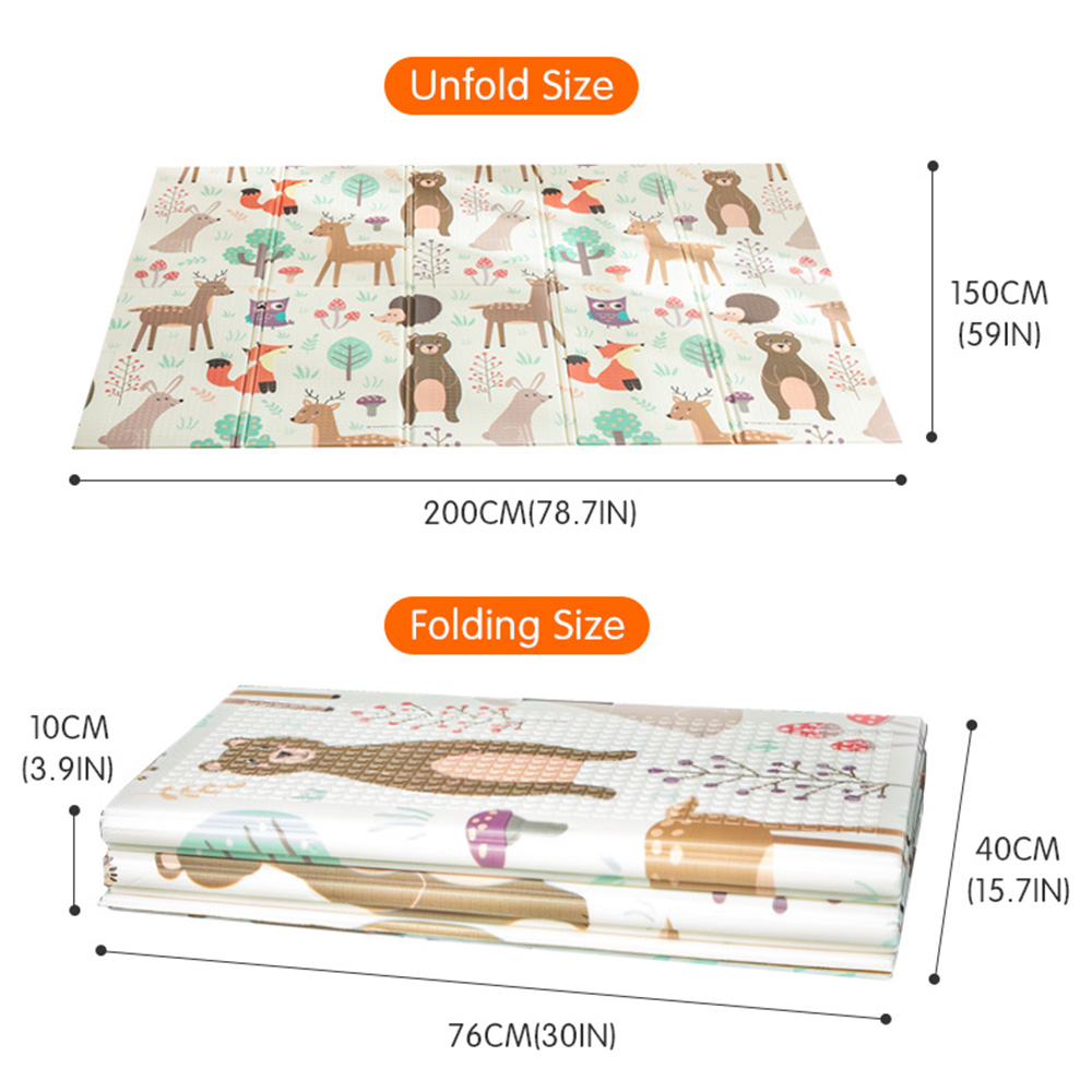 ALI shop ...  ... 32854352642 ... 5 ... Infant Shining Baby Play Mat Xpe Puzzle Children's Mat Thickened Tapete Infantil Baby Room Crawling Pad Folding Mat Baby Carpet ...