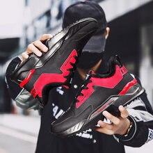 À lacets en cuir microfibre viscose froide pour hommes chaussures de marche décontractée chaussures de sport en plein air léger amorti chaussures de course