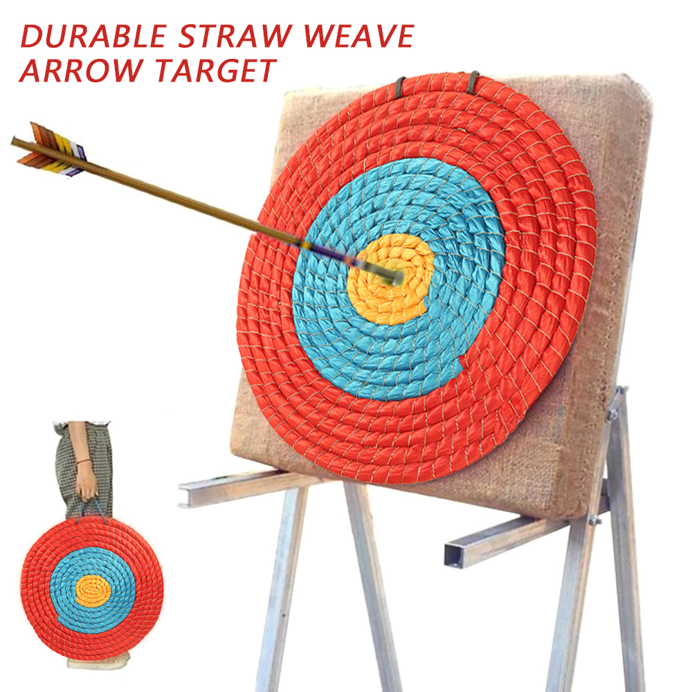 1pc 30/40cm Outdoor Sports Hunting Shooting Target Archery Target Board Straw Arrow Grass Target Straw Products