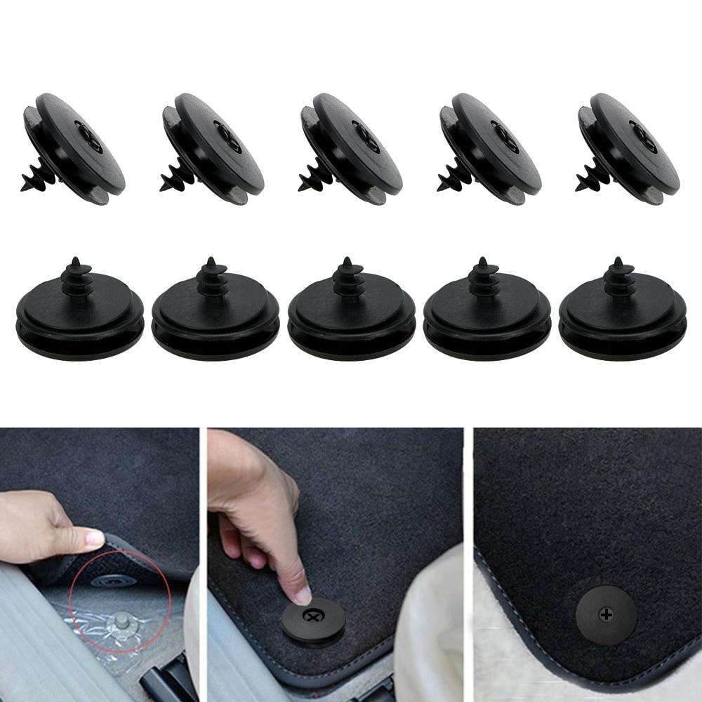 RENAULT FLOOR MAT /& CARPET FIXING CLAMPS 4 Pcs IN A PACK