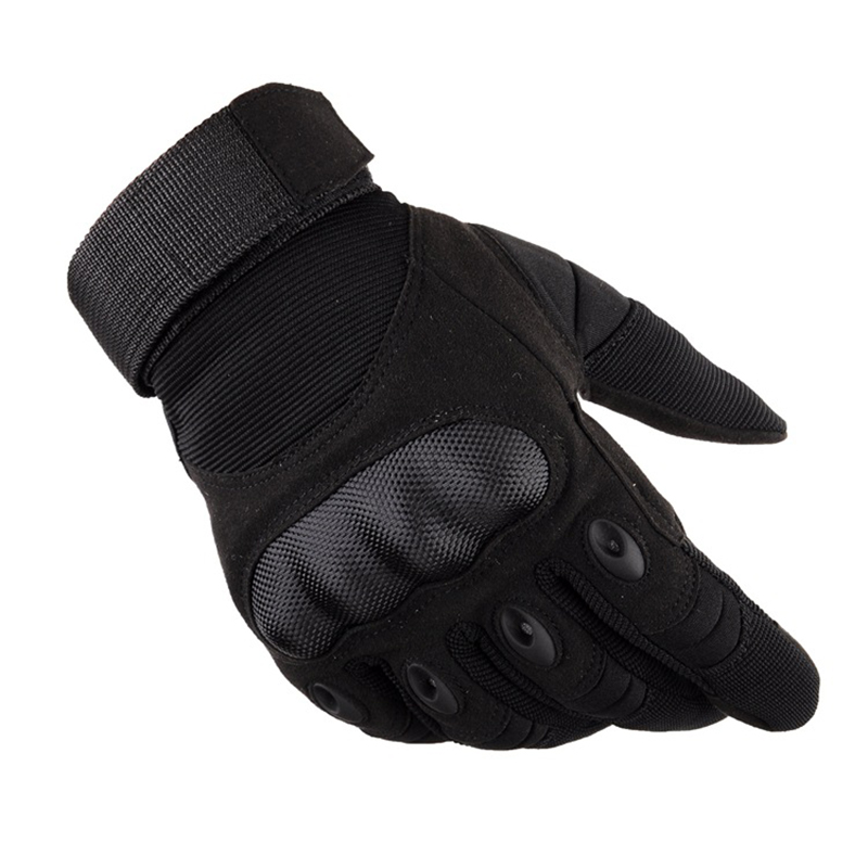 Hard Knuckle Tactical Armed Gloves Military Airsoft Hunting Men's Gloves Touch Screen Full Finger Hiking Gloves